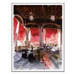 Peceria Venedig / Aquarell