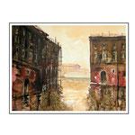 Durchblick Venedig / Aquarell