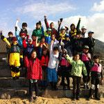 がんばるぞ~! 高松の子供たちはのびのび元気な良い子達でした。仲良くしてくれてありがとう!