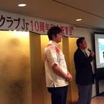 琉球コラソンの石田選手