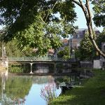 Trottoirs en bord de Meuse