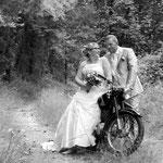 Un petit tour en moto ...