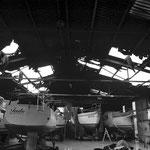 Unsere Bootshalle - Totalschaden(?).