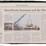 Die Sylter Rundschau berichtet über den Abtransport