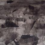 Una aparición. Tintas y lápiz sobre papel, 50x70 cm, 2017