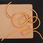 PIA SEIERSEN. Nudos. papel alcachofa, pastel y fibra mixta. 80.5 x 96 cm. 2010.
