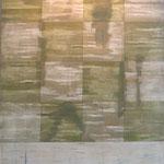 FRANCISCO CASTRO LEÑERO. Serie El Río. acrílico/tela. 150 x 120 cm. 2004.