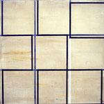 FRANCISCO CASTRO LEÑERO. Desplazamientos .acrl/tela, 80x80cm2009
