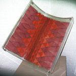 SEIERSEN FROST,  Papalote 6, papel pintado y acrílico, 69x64x52cm, 1997.