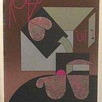 Tacuba Plata. Serigrafía, 94/100, 64x54 cm, 1988.
