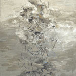 Carrera de viento. Óleo/tela, 120x100 cm, 2013/14