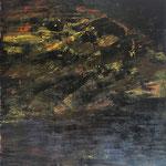 IRMA PALACIOS, Nocturno-Paisaje, óleo/tela, 120x100cm, 2013.