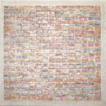 VICENTE ROJO. Salón Paul Klee II. técnica mixta/tela. 100 x 100 cm. 2011.