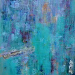 Texel, panel, mixed media,  100 x 120 cm