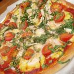 偽チーズのピザ