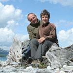 Daniel und Silvia in der Mongolei