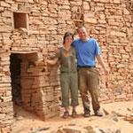 Silvia und Daniel in Mauretanien