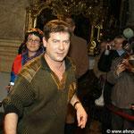 Michael Hirte in der Peterskirche Wien