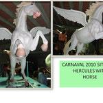 Decoración de carrozas de carnaval