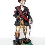 esqueleto capitán pirata