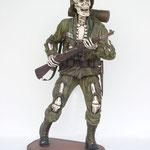 esqueleto soldado