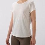 竹の半袖Tシャツ 3800円+税 M/L オフホワイト/ブラック/ラベンダー