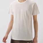 半袖Tシャツ M/L *オフホワイト/ブラック 3990円