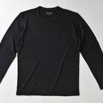 長袖Tシャツ M/L オフホワイト/*ブラック 4720円