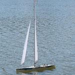 SEAWIND - yacht longueur 1m, hauteur 1m87