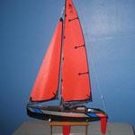 MicroMagic - yacht- longueur 535mm, hauteur 935mm