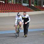 Trainer Tim Zühlke und Ich