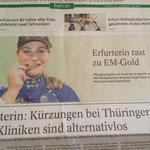 Heute in der Thüringer Allgemeine