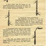 Einfacher wurde es mit dem Hebelfüller (1928) und später dem Druck-Füllhalter (1933), dem Tipper.