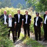 Die 6 Küngs: Klaus, Walter, Mario, Severin, Andreas, Hansjörg