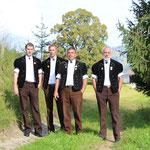 Die 4 Klossners: Kilian (nicht mehr im Verein), Manuel, Werner und Adrian