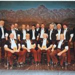 Jodlertag Därstetten 2007 50 Jahre Aktivmitglieder EJV 2007 W. Küng, N. Gerber, W. Bühler, 55 Jahre: M. Küng