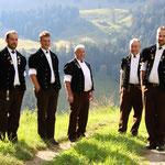 Die 5 Gerbers: Ueli, David, Niklaus, Jörg und Balz