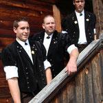 Vater + Söhne: Mario, Hansjörg und Severin Küng