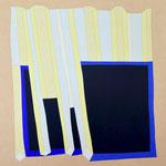 SCHWARZE TAFEL - 2015 - 110 x 110 cm