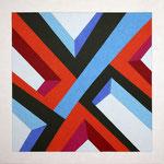 CLUSTER C - 2013 - 110 x 110 cm