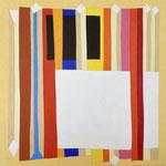 WEISSE TAFEL - 2015 - 110 x 110 cm