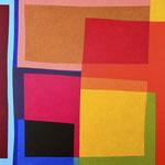 FELDMUSTER III - 2014 - 110 x 110 cm