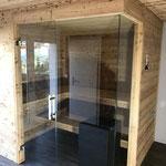 Einbau Sauna Wachthubel Aeschi