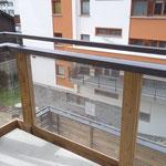 Gletschergarten Saas-Fee Balkon