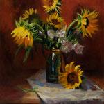 Sunflowers (SOLD) --- Medium: Oil --- Size: 24 X 30