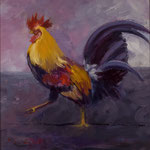 """""""Lowcountry Strut"""" --- Medium: Oil --- 14 X 12 [ Private Collection]"""