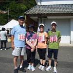 (株)第一コンサルタンツの松田久義・節子夫妻もこの大会からマラソンデビュー