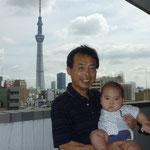 7月24日墨田区のマンション スカイツリーが建設中