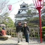 高知城三ノ丸 2008年3月29日撮影