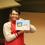 3番目のビンゴはネパールから博士課程に来ているシャンカルさん